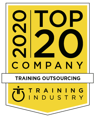 Top 20 Training Outsourcing Company Award